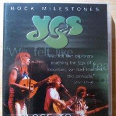 Vidéos y DVD Musicaux: YES - CLOSE TO EDGE - DVD NUEVO, AÚN PRECINTADO. EN INGLÉS. Lote 47417018