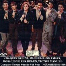 Vídeos y DVD Musicales: JOAQUIN SABINA, MIGUEL RIOS, ROSA LEON, VICTOR MANUEL Y ANA BELEN, AMAYA URANGA 1986 (DVD). Lote 194724548