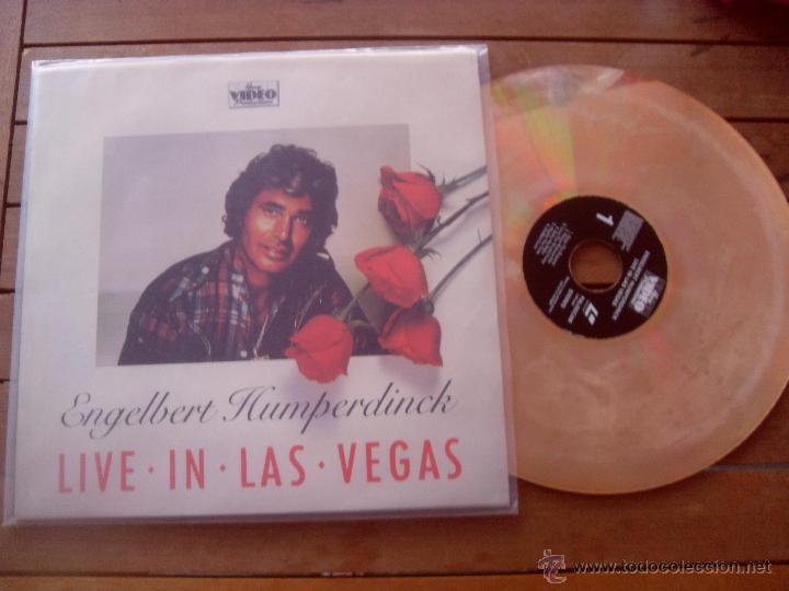 Engelbert humperdinck lp live in las vegas made - Sold