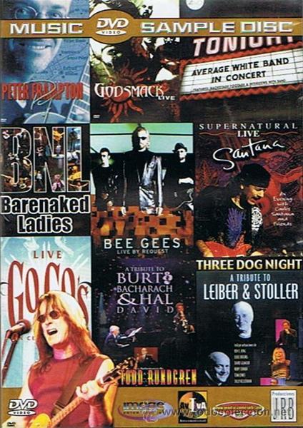 DVD MUSIC SAMPLE DISC (Música - Videos y DVD Musicales)