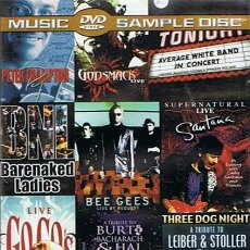 Vídeos y DVD Musicales: DVD MUSIC SAMPLE DISC . Lote 48379282