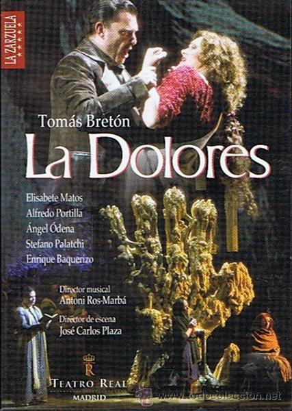DVD LA DOLORES TOMÁS BRETÓN (EDICIÓN 2 DISCOS) (Música - Videos y DVD Musicales)