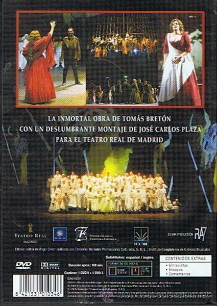Vídeos y DVD Musicales: DVD LA DOLORES TOMÁS BRETÓN (EDICIÓN 2 DISCOS) - Foto 2 - 48435038