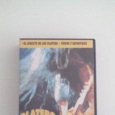 Vídeos y DVD Musicales: VHS. A PELO Y TU. PLATERO Y TU. 1996. MUY BUSCADO, COPIAS LIMITADISIMAS.. Lote 48571822