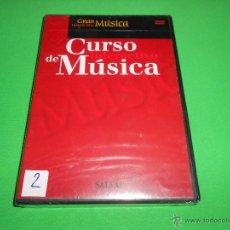 Vídeos y DVD Musicales: CURSO INTERACTIVO DE MUSICA - 2 - DVD - PRECINTADO - GRAN HISTORIA DE LA MUSICA - SALVAT. Lote 116168958
