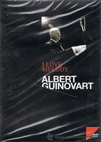 DVD I LOVE MELODY ALBERT GUINOVART (PRECINTADO) (Música - Videos y DVD Musicales)