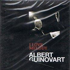 Vídeos y DVD Musicales: DVD I LOVE MELODY ALBERT GUINOVART (PRECINTADO). Lote 48700160