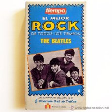 Vídeos y DVD Musicales: THE BEATLES - LO MEJOR DEL ROCK #4 - VHS SPAIN - TRI PICTURES / TIEMPO. Lote 48743208