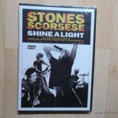 Vídeos y DVD Musicales: STONES SCORSESE - SHINE A LIGHT 2008 NUEVO PRECINTADO. Lote 48808504