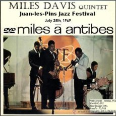 Vídeos y DVD Musicales: MILES DAVIS QUINTET - JUAN - LES - PINS JAZZ FESTIVAL, ANTIBES, FRANCE 1969 -DVD. Lote 263105970
