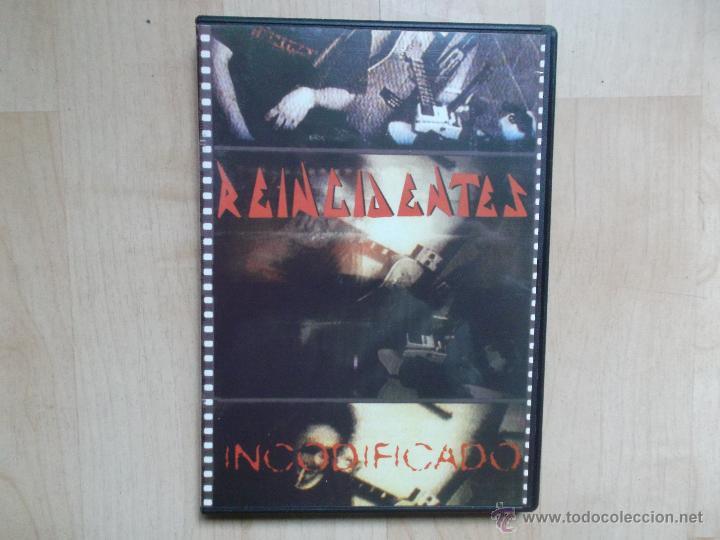 REINCIDENTES INCODIFICADO - (Música - Videos y DVD Musicales)
