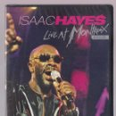 Vídeos y DVD Musicales: ISAAC HAYES - LIVE AT MONTREAUX 2005 (DVD 2007 EAGLE VISION). Lote 49023842