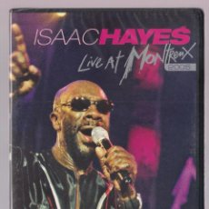 Vídeos y DVD Musicales: ISAAC HAYES - LIVE AT MONTREAUX 2005 (DVD 2007 EAGLE VISION). Lote 207223926