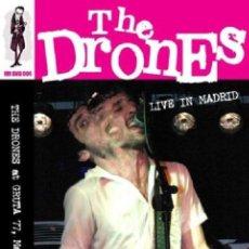 Vídeos y DVD Musicales: THE DRONES * DVD * LIVE IN MADRID * DIGIPACK * PRECINTADO. Lote 49341645