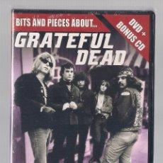Vídeos y DVD Musicales: GRATEFUL DEAD - BITS AND PIECES ABOUT...(DVD + BONUS CD 2006 DELTA ENTERTAINMENT). Lote 49365869