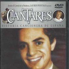 Vídeos y DVD Musicales: CANTARES- ANTONIO MOLINA+ EL PRINCIPE GIITANO. Lote 49779602