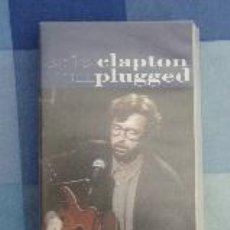Vídeos y DVD Musicales: ERIC CLAPTON UNPLUGGED. 1992. FORMATO VHS. Lote 49827745