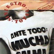 Vídeos y DVD Musicales: DVD SINIESTRO TOTAL ANTE TODO : MUCHA CALMA. Lote 49910032