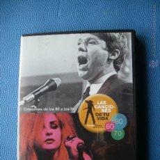 Vídeos y DVD Musicales: VARIOS - AÑOS 60´S A LOS 80´S LAS CANCIONES DE TU VIDA DVD SPAIN PDELUXE. Lote 50347567