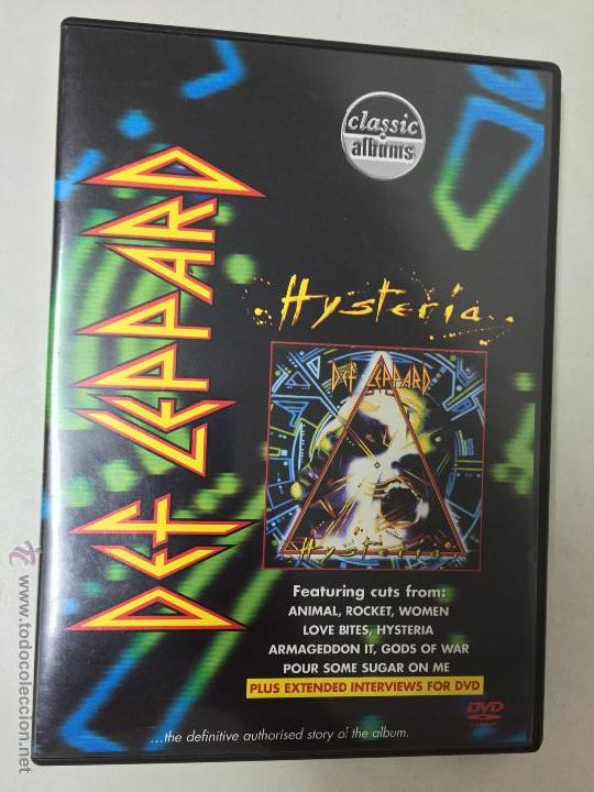 DEF LEPPARD HYSTERIA DVD