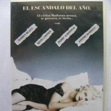 Vídeos y DVD Musicales: EN LA CAMA CON MADONNA. EL ESCANDALO DEL AÑO. VHS 5548-51. MADE IN SPAIN 1991.. Lote 50440964