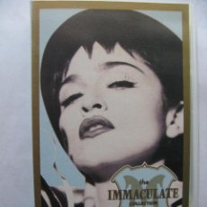 Vídeos y DVD Musicales: MADONNA. THE IMMACULATE COLLECTION. VHS. HI-FI. WARNER MUSIC 7599 38214-3. 1990. Lote 50440982