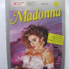 Vídeos y DVD Musicales: MADONNA. UN CIERTO SACRIFICIO. (LA PELÍCULA PROHIBIDA) VHS 2.401 KV. 1987.. Lote 50441044