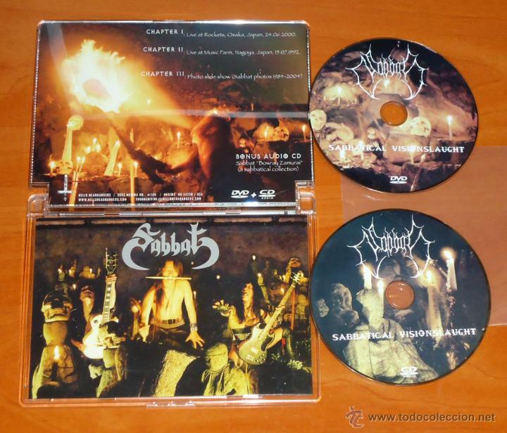 SABBAT - SABBATICAL VISIONSLAUGHT - DVD + CD [HELLS HEADBANGERS 2011] BLACK METAL HEAVY METAL THRASH (Música - Videos y DVD Musicales)