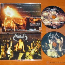 Vídeos y DVD Musicales: SABBAT - SABBATICAL VISIONSLAUGHT - DVD + CD [HELLS HEADBANGERS 2011] BLACK METAL HEAVY METAL THRASH. Lote 50457132