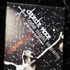 Vídeos y DVD Musicales: DEPECHE MODE - ONE NIGHT IN PARIS - THE EXCITER TOUR 2001 - A LIVE CONCERT FILM BY ANTON CORBIJN . Lote 50854774