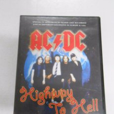 Vídeos y DVD Musicales: AC/DC HIGHWAY TO HELL. DVD. LIVE IN DIFFERENT LOCATIONS IN EUROPE & USA. TDKV1. Lote 51046657