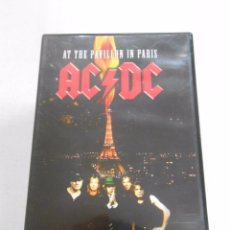 Vídeos y DVD Musicales: AC/DC AT THE PAVILLON IN PARIS. DVD. TDKV1. Lote 51046677