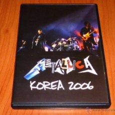 Vídeos y DVD Musicales: METALLICA KOREA 2006 - NUEVA. Lote 51068222