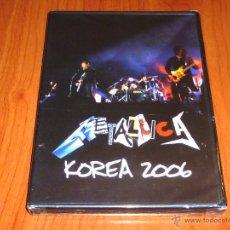 Vídeos y DVD Musicales: METALLICA KOREA 2006 - PRECINTADA. Lote 51068242