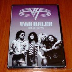 Vídeos y DVD Musicales: VAN HALEN LIVE US FESTIVAL - PRECINTADA. Lote 51068327
