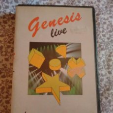 Vídeos y DVD Musicales: GENESIS LIVE THE MAMA TOUR VHS 1985. Lote 51086817