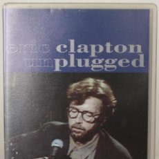 Vídeos y DVD Musicales: ERIC CLAPTON : UNPLUGGED (VHS). Lote 48413151