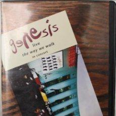Vídeos y DVD Musicales: GENESIS LIVE IN CONCERT : THE WAY WE WALK (VHS). Lote 48413271