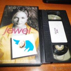Vidéos y DVD Musicaux: JEWEL PIECES OF YOU VIDEO VHS DEL AÑO 1997 PROMOCIONAL HECHO EN ESPAÑA . Lote 51344229