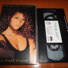 Vidéos y DVD Musicaux: MARIAH CAREY THE FIRST VISION VIDEO VHS DEL AÑO 1991 42 MINUTOS 9 TEMAS. Lote 51376625