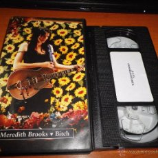 Vidéos y DVD Musicaux: MEREDITH BROOKS BITCH VIDEO VHS PROMOCIONAL DEL AÑO 1997 MUY RARO. Lote 51377040