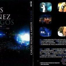 Vídeos y DVD Musicales: CD+DVD CARLOS NÚÑEZ Y AMIGOS DESCATALOGADO. Lote 51381413