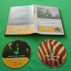 Vídeos y DVD Musicales: ANGEL PARRA TRIO + INVITADOS ( LA HORA FELIZ ) - DVD - INCLUYE CD VAMOS QUE SE PUEDE - RARISIMO. Lote 51389933