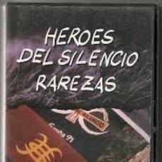 Vídeos y DVD Musicales: HEROES DEL SILENCIO RAREZAS VHS VIDEO. Lote 51410437
