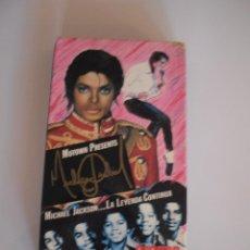 Vídeos y DVD Musicales: MICHAEL JACKSON LA LEYENDA CONTINUA VHS. Lote 51526329