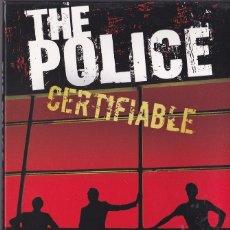 Vídeos y DVD Musicales: POLICE - CERTIFIABLE (LIVE IN BUENOS AIRES) - 2 CDS + 2 DVDS - EDICIÓN JAPONESA. Lote 51727127