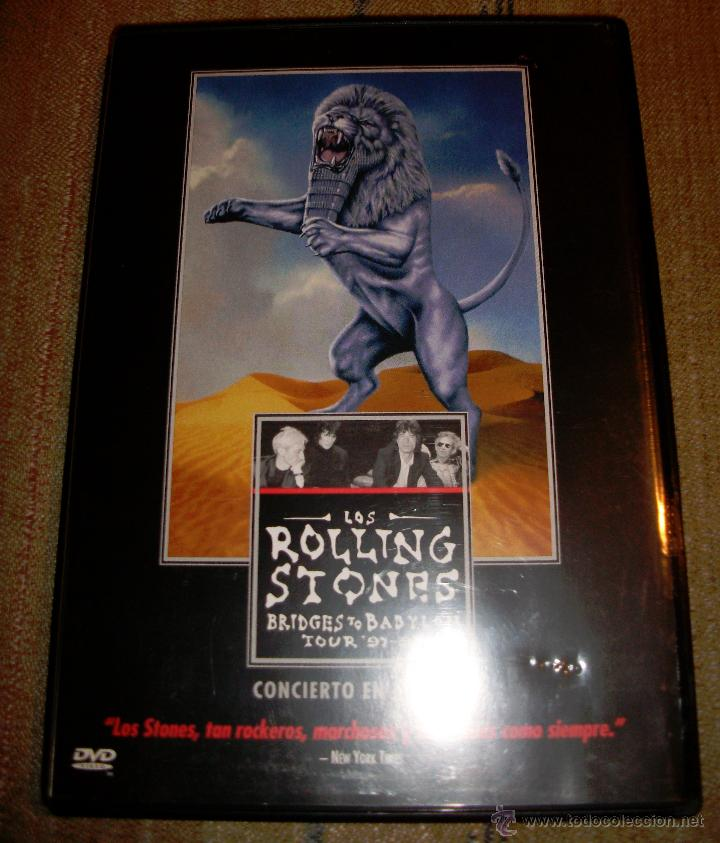 LOS ROLLING STONES - BRIDGES TO BABYLON TOUR 97 - 98 (Música - Videos y DVD Musicales)
