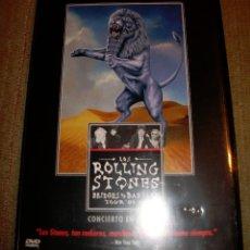 Vídeos y DVD Musicales: LOS ROLLING STONES - BRIDGES TO BABYLON TOUR 97 - 98. Lote 51931575