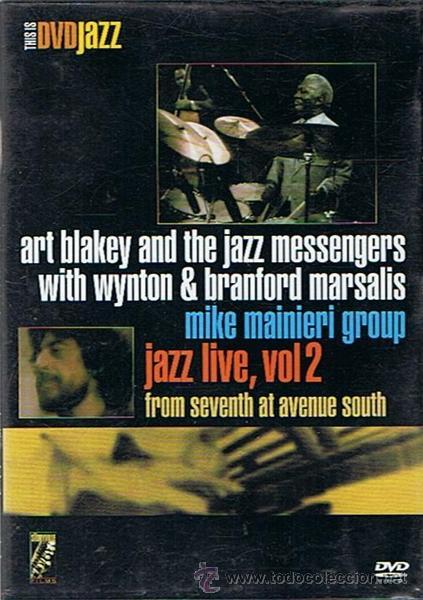 DVD ART BLAKEY WYNTON & BRANFORD MARSALIS JAZZ LIVE VOL.2 (Música - Videos y DVD Musicales)