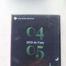 Vídeos y DVD Musicales: DVD - TEMPORADA OPERA LICEU / LICEO BARCELONA - DVD DE L'ANY / DEL AÑO - 2004 - 2005 - PRECINTADO. Lote 124034830